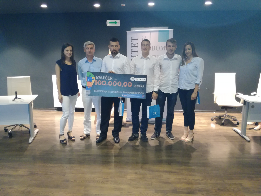 Final of Students competition for the best ideas at the